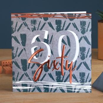 Sixty - Man Card