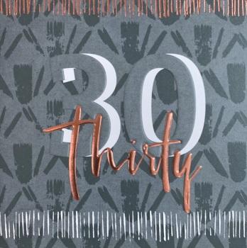 Thirty - Man Card