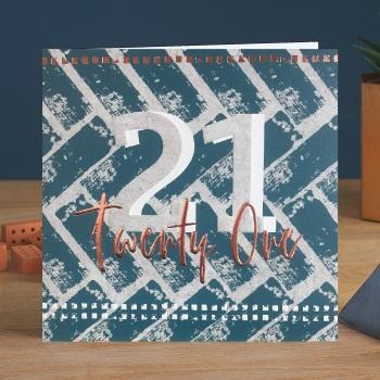Twenty One - Man Card