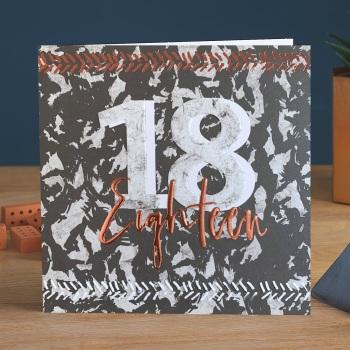 Eighteen - Man Card