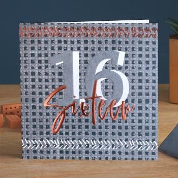 Sixteen - Man Card