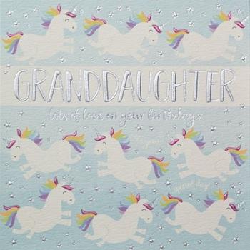 Granddaughter Birthday- Card