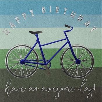 Happy Birthday Bike- Card