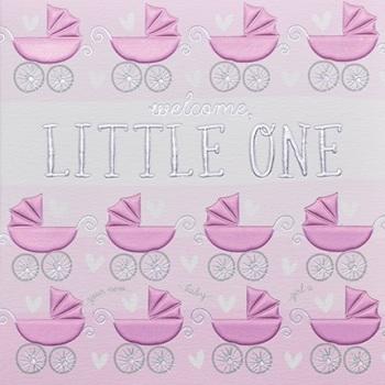 Little One Girl - Card