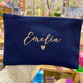 Small Heart - Personalised Bag - Various Colour Choices
