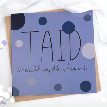 Taid - Penblwydd Hapus - Card