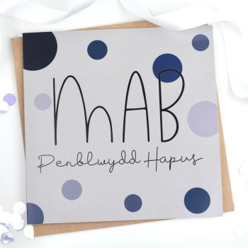 Mab - Penblwydd Hapus - Card