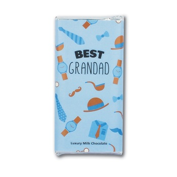 Best Grandad - Milk Chocolate Bar