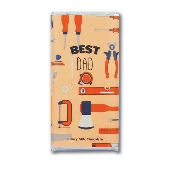 Best Dad - Milk Chocolate Bar