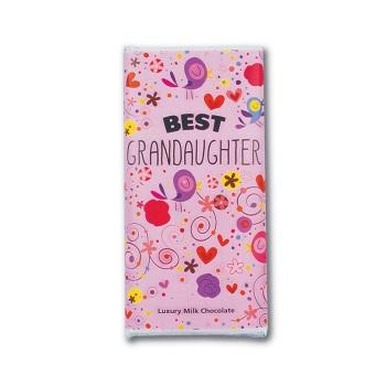 Best Grandaughter - Milk Chocolate Bar