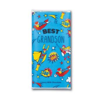 Best Grandson - Milk Chocolate Bar