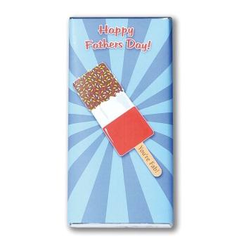 Happy Father's Day - Milk Chocolate Bar