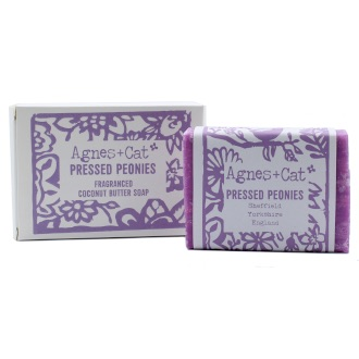 Pressed Peonies - Coconut Butter Soap