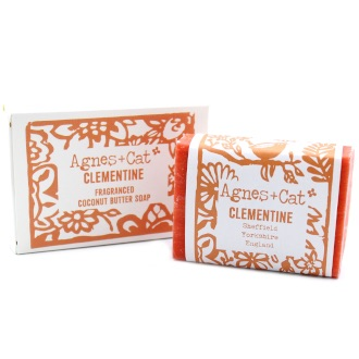 Clementine - Coconut Butter Soap