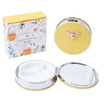 Bee Happy Bee - Pill Keeper Box