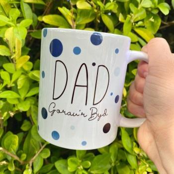 Dad Gorau'r Byd - Mug