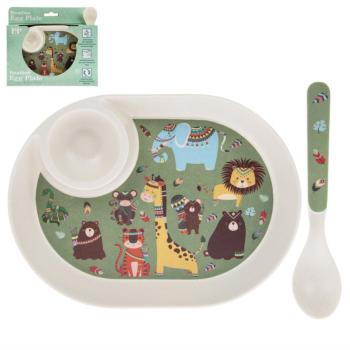 Egg & Spoon Set - Jungle