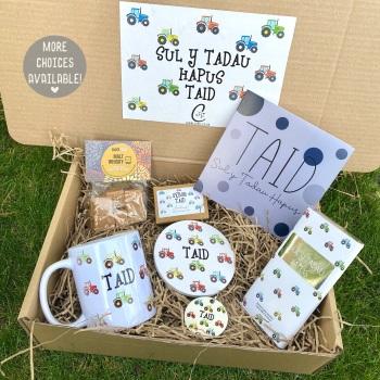 Tractor-  Sul y Tadau Hapus - Taid - Gift Box (Various Choices)