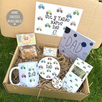 Tractor Sul y Tadau Hapus - Dad - Gift Box (Various Choices)