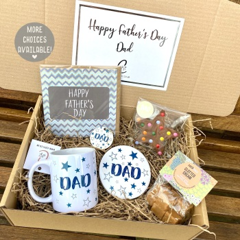 Happy Father's Day - Dad - Gift Box (Various Choices)