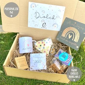 Rainbow-  Diolch - Gift Box (Various Choices)