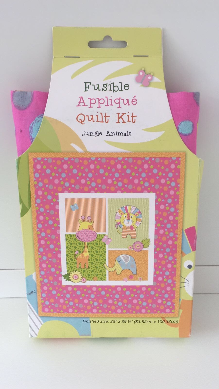 Jungle Animals Quilt Kit