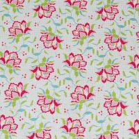 Tilda Circus Collection - Clown Flower Linen - Half Metre