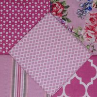 Gutermann Fat Quarter Bundle -Portofino Pink