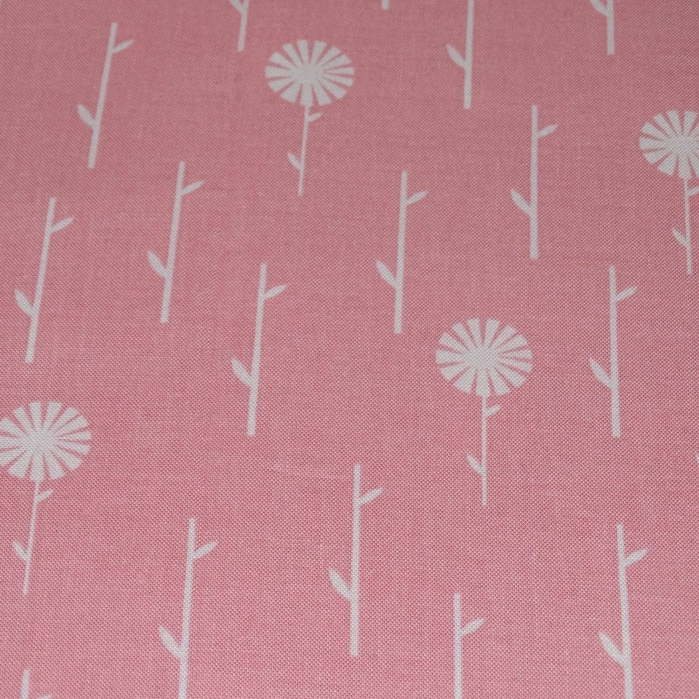 Dashwood Fabric - September Blue in Pink