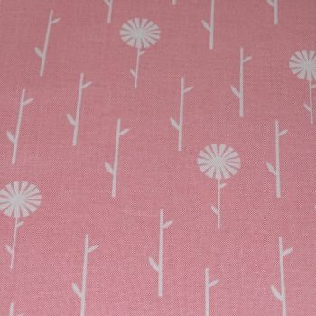 Dashwood Fabric - September Blue in Pink Per Fat Quarter