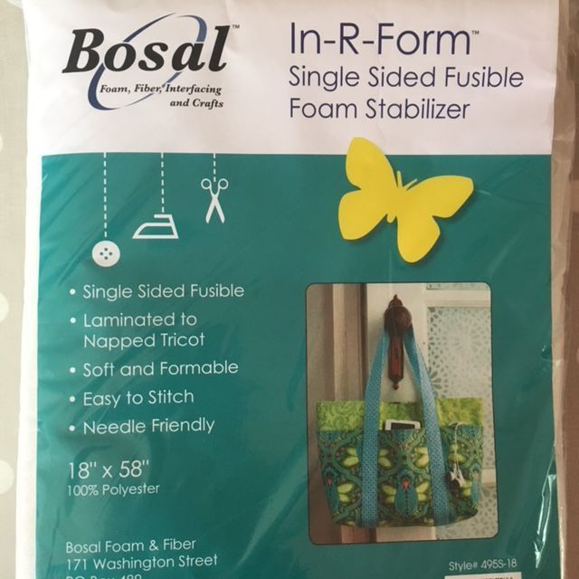 Bosal Single Sided Fusible Foam In-R-Form
