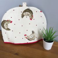 Tea Cosy - Red Chickens