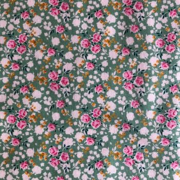 Tilda Apple Butter Bonnie Sage - Per Half Metre