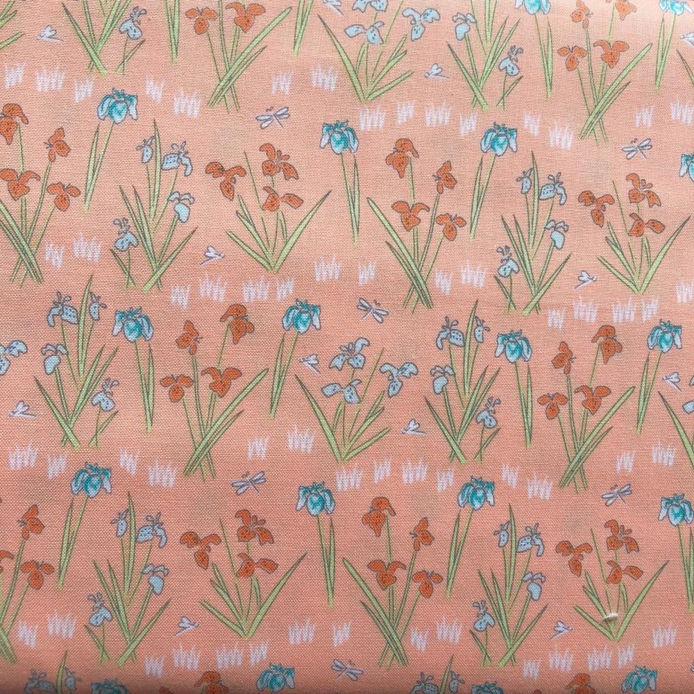 Lily Pad Salmon lilies