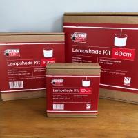 20cm diameter Drum Lampshade Kit