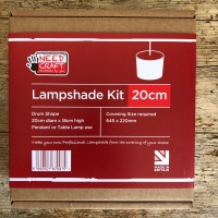Drum Lampshade Kit - 20cm diameter