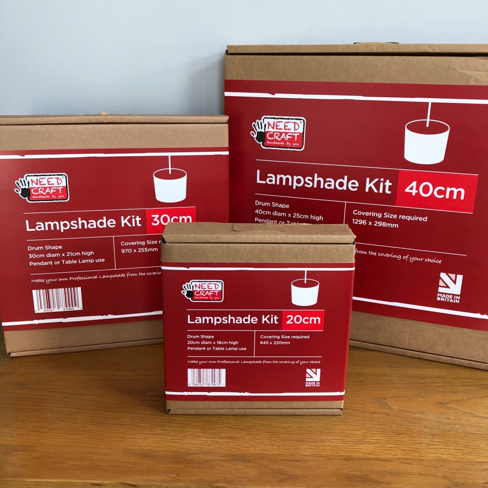 Drum Lampshade Kit - 40cm diameter