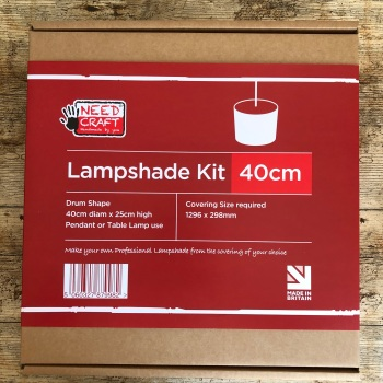 Drum Lampshade Kit - 40cm diameter