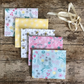 Springtime Floral Fat Quarter Bundle