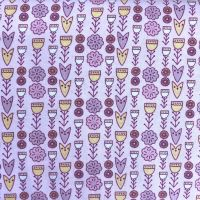 Fabric Freedom ~ Scandi Flora Collection Floral Pink
