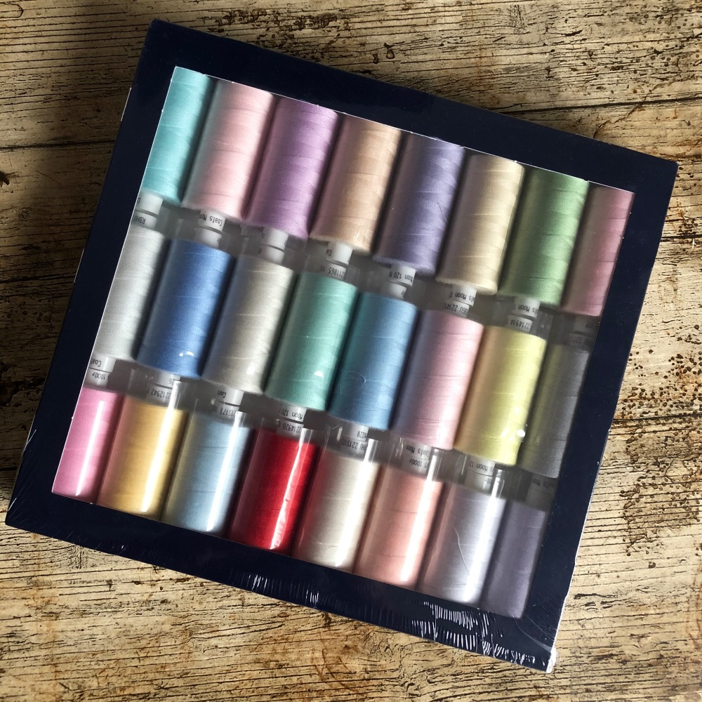 Moon Thread Pastel Collection - 24 reels  - 1000m