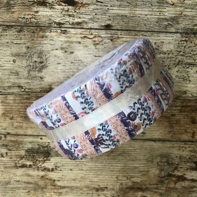 Fabric Freedom - Water Colour Swirls - Large Fabric Roll - 40 Strips