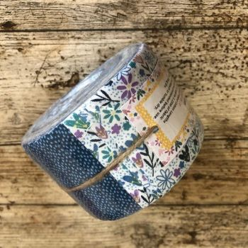 Fabric Freedom - Posy - Small Jelly Baby Fabric Roll - 20 Strips