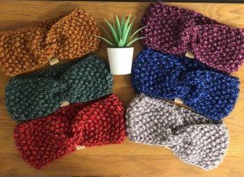 Knitted Ear Warmer Headband- Soft, Comfy and Warm