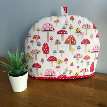 Tea Cosy - Cath Kidston Fabric Mini Mushrooms