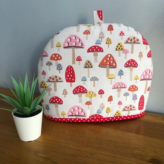 Tea Cosy - Cath Kidston Fabric Mini Mushrooms