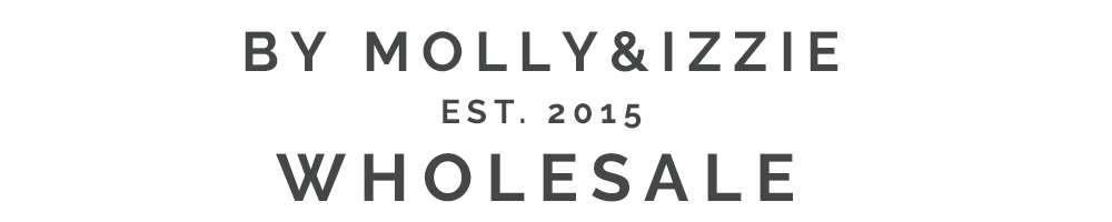 by Molly&Izzie Wholesale, site logo.
