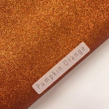 Pumpkin Orange ~ Fine Glitter