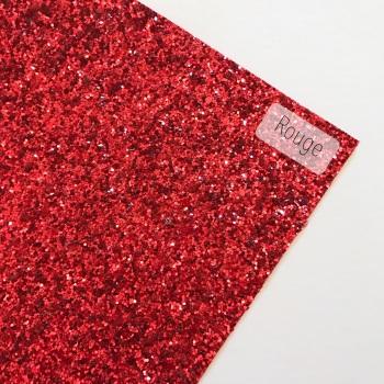 Rouge Chunky Glitter