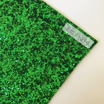 Emerald Chunky Glitter